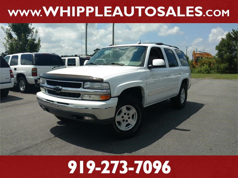 2005 CHEVROLET TAHOE LT for sale by dealer