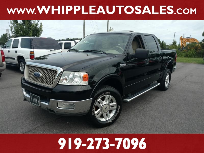 2004 FORD F-150 CREW CAB LARIAT for sale by dealer