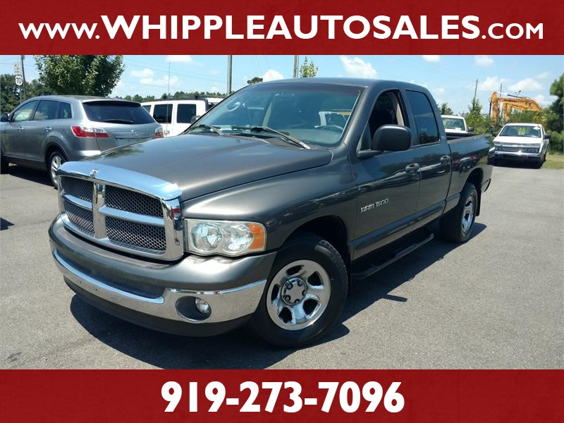 2002 DODGE RAM 1500 SLT QUADCAB for sale!
