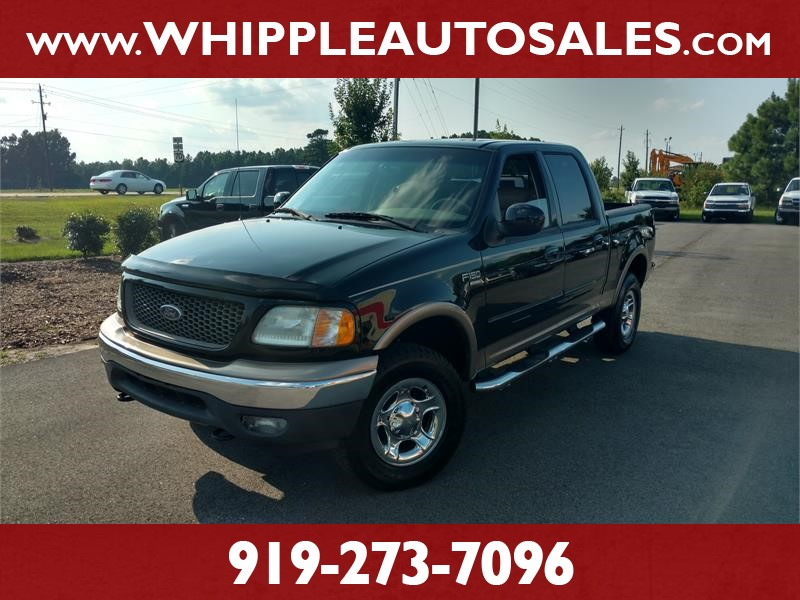 2002 FORD F-150 LARIAT SUPERCREW for sale by dealer
