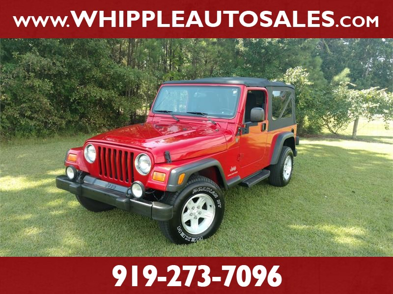 2004 JEEP WRANGLER UNLIMITED (LJ) SPORT for sale!