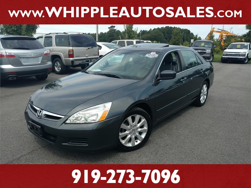 2007 HONDA ACCORD EX-L (1-OWNER) for sale by dealer