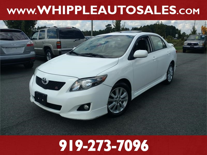 2010 TOYOTA COROLLA S for sale by dealer