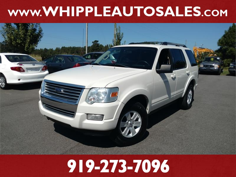 2010 FORD EXPLORER XLT for sale by dealer