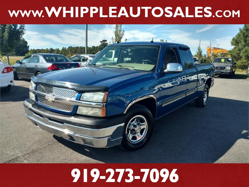 2004 CHEVROLET SILVERADO  LT for sale by dealer