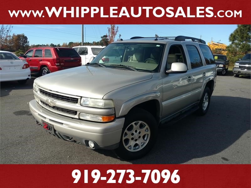 2004 CHEVROLET TAHOE Z71 4WD for sale by dealer