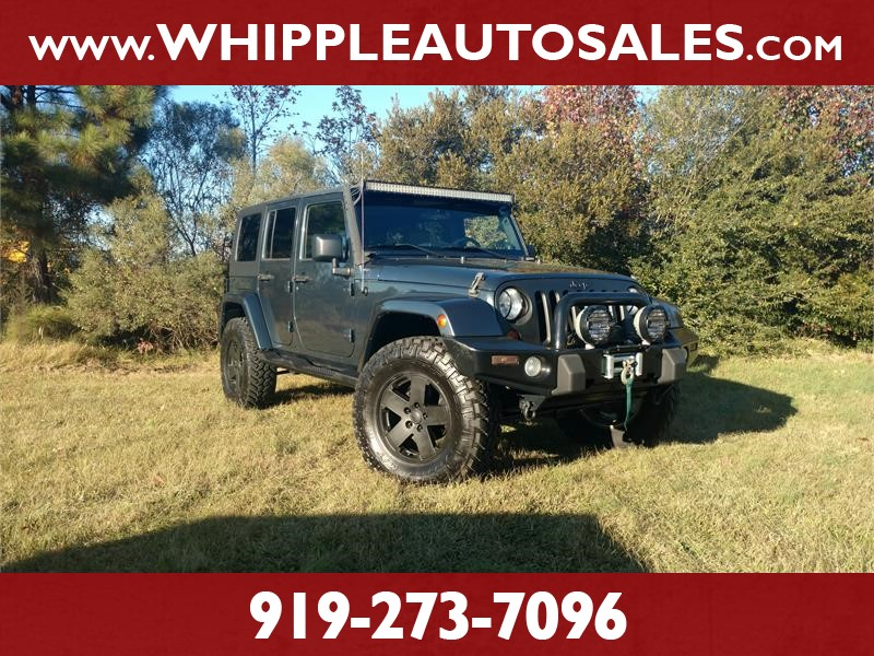 2007 JEEP WRANGLER UNLIMITED SAHARA for sale by dealer