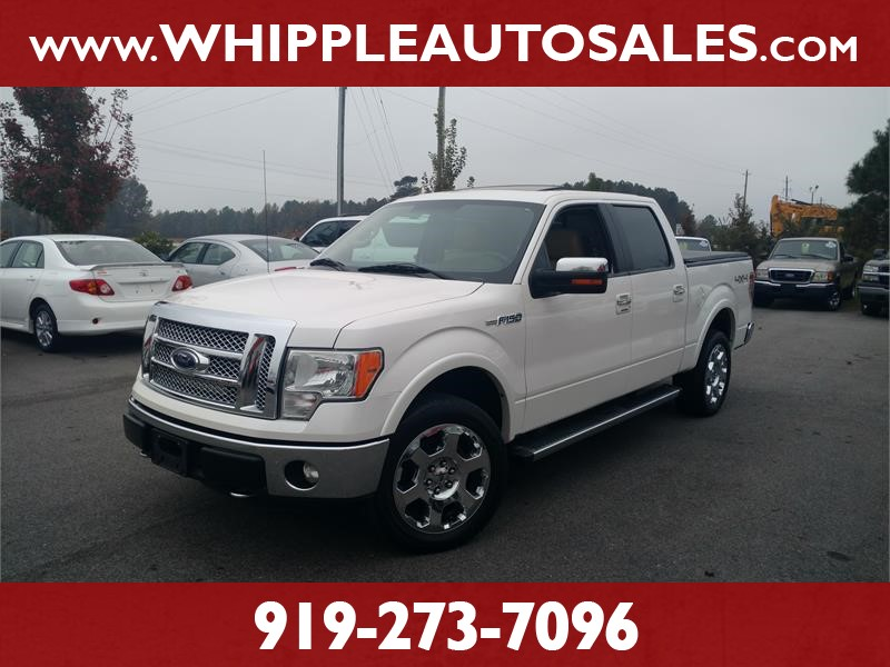2011 FORD F150 LARIAT SUPERCREW for sale by dealer