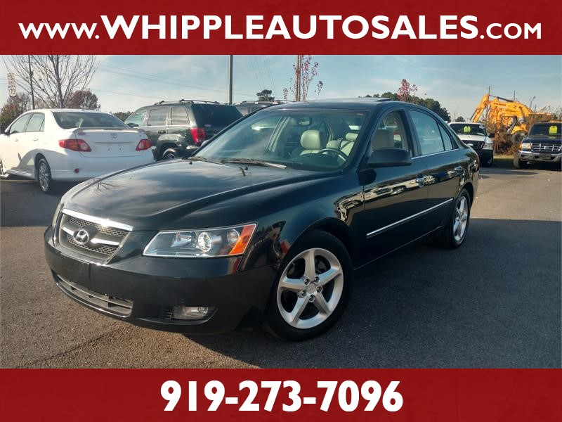 2008 HYUNDAI SONATA LIMITED for sale by dealer