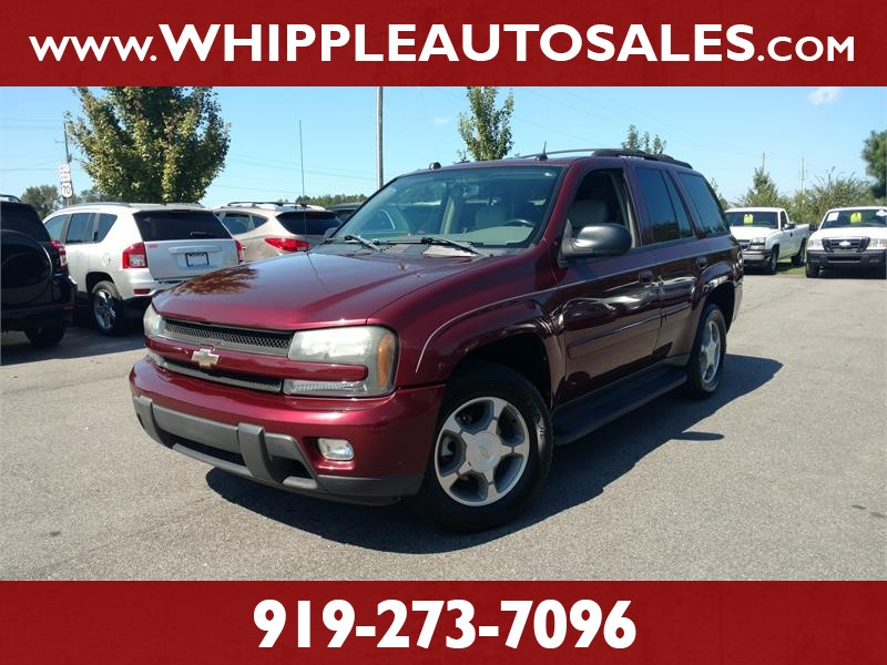 2005 CHEVROLET TRAILBLAZER LT for sale by dealer