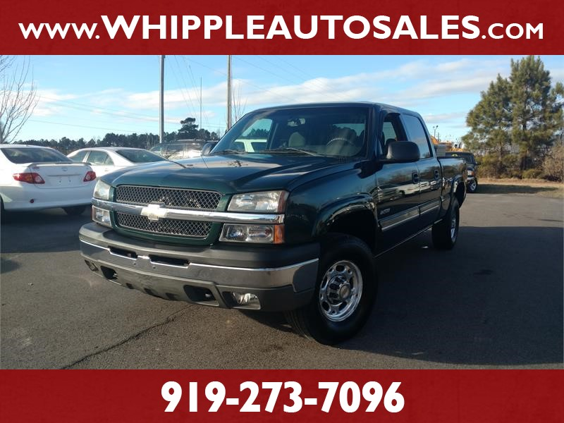2004 CHEVROLET SILVERADO 2500 LT for sale!