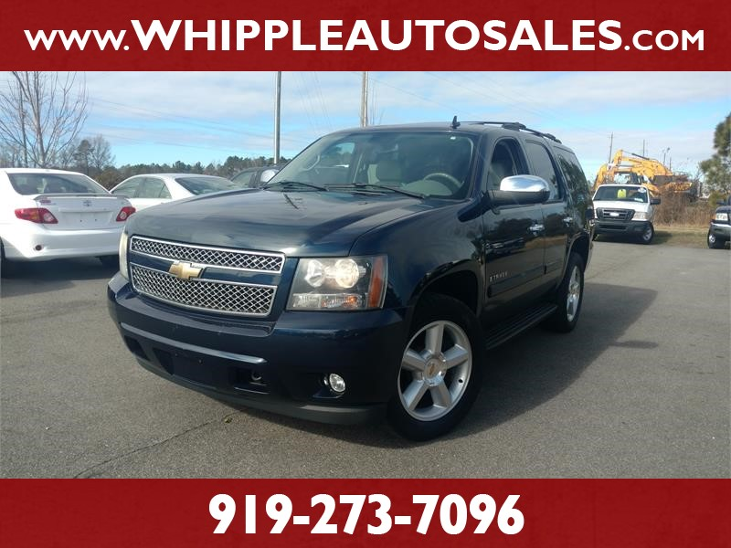 2007 CHEVROLET TAHOE LTZ 4WD for sale by dealer