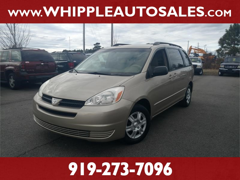 2005 TOYOTA SIENNA LE 8-Passenger for sale by dealer