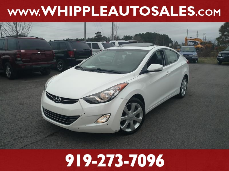 2011 HYUNDAI ELANTRA LIMITED for sale by dealer