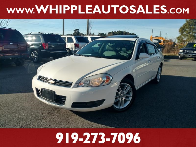 2008 CHEVROLET IMPALA LTZ for sale by dealer