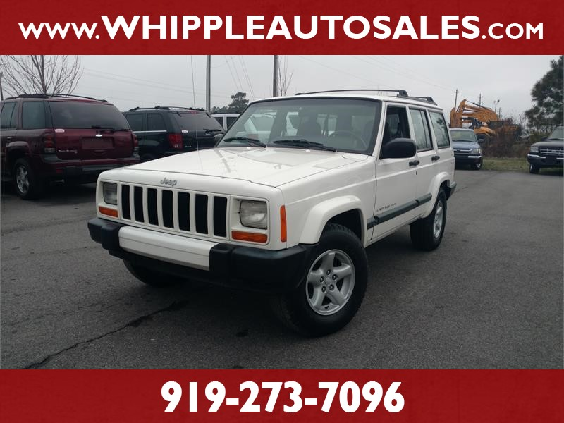 2000 JEEP CHEROKEE XJ SPORT for sale by dealer