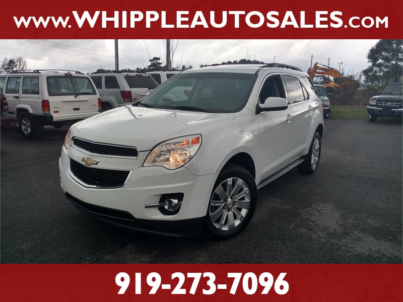 2011 CHEVROLET EQUINOX 2LT (1-OWNER) for sale by dealer
