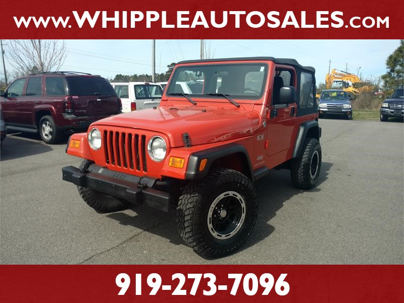 2006 JEEP WRANGLER X (LOW MILEAGE) for sale by dealer