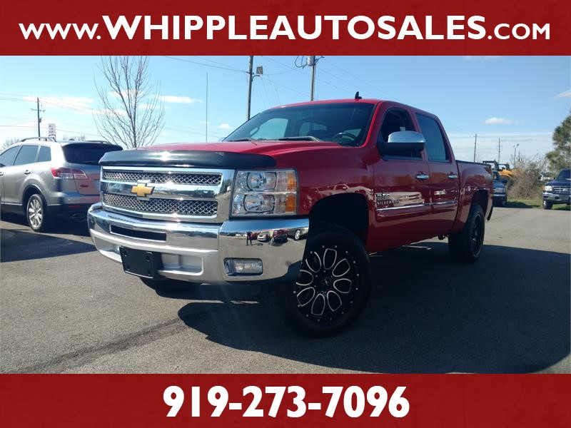 2012 CHEVROLET SILVERADO LT CREW CAB for sale by dealer