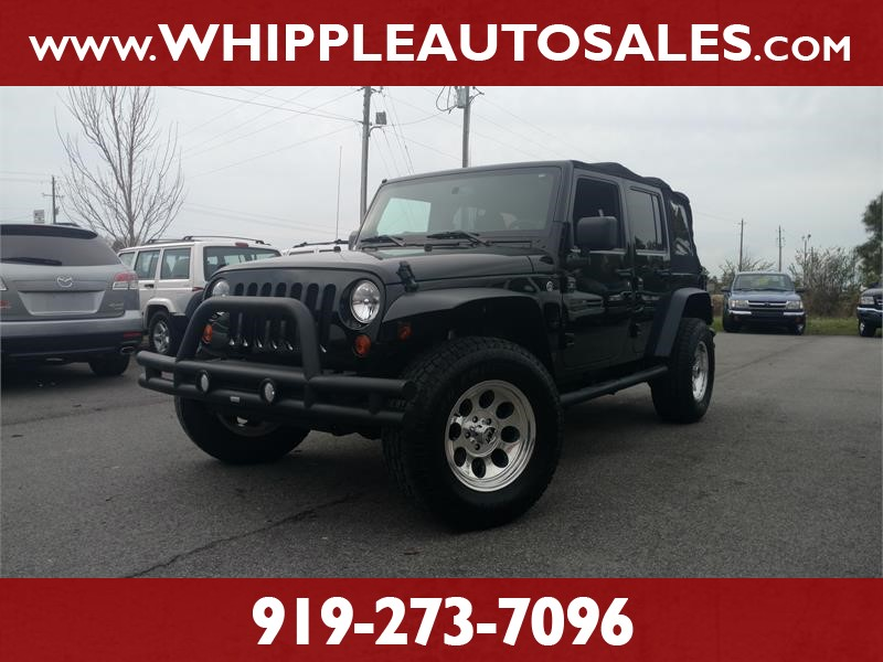 2013 JEEP WRANGLER UNLIMITED SPORT for sale by dealer