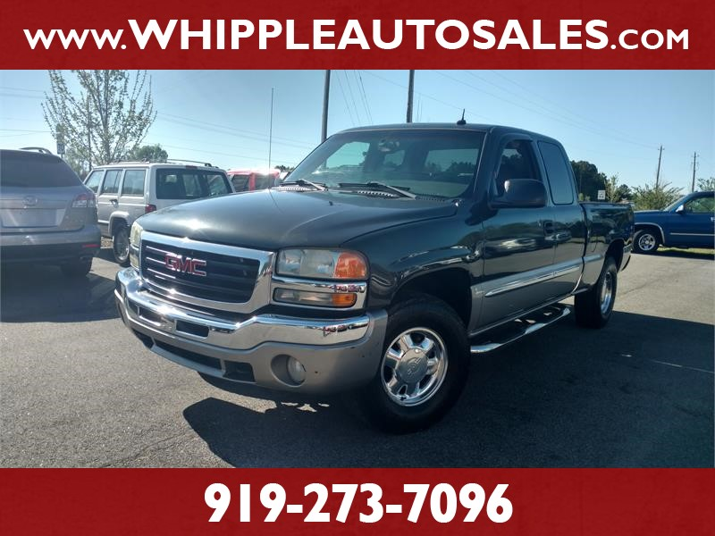 2003 GMC SIERRA SLT for sale by dealer