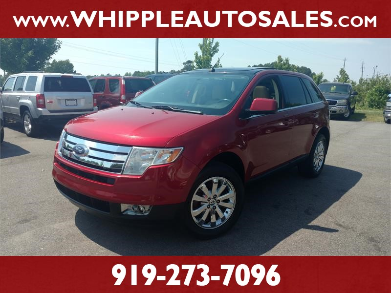 2008 FORD EDGE LIMITED for sale by dealer