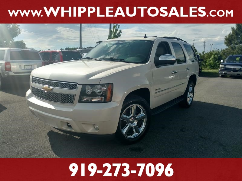 2011 CHEVROLET TAHOE LTZ 4WD for sale by dealer