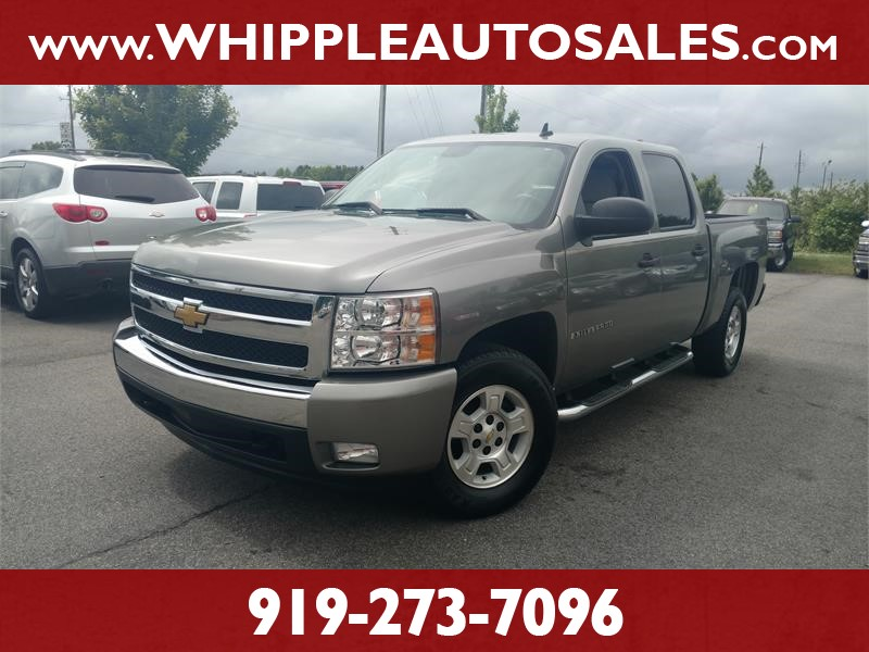 2007 CHEVROLET SILVERADO LT CREW CAB for sale by dealer