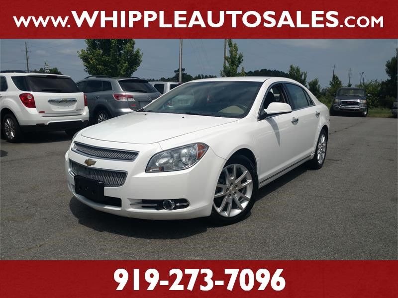 2011 CHEVROLET MALIBU LTZ for sale by dealer