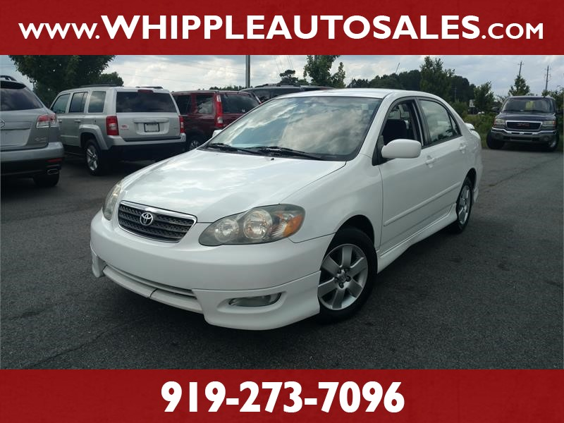 2007 TOYOTA COROLLA S for sale by dealer