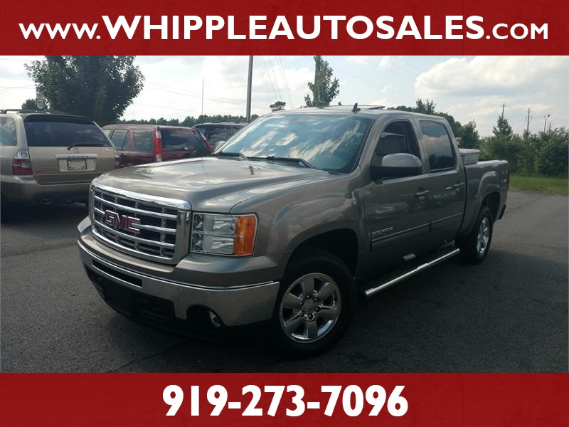 2009 GMC SIERRA SLT CREW CAB for sale by dealer