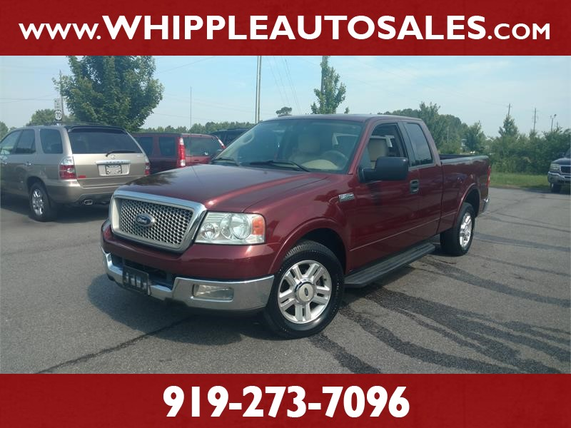 2004 FORD F-150 LARIAT SUPERCAB for sale by dealer