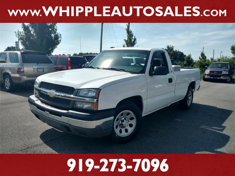 2005 CHEVROLET SILVERADO 1500 WORK TRUCK LONG BED for sale by dealer