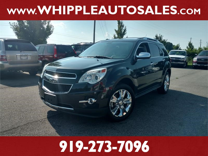 2011 CHEVROLET EQUINOX LTZ AWD for sale by dealer