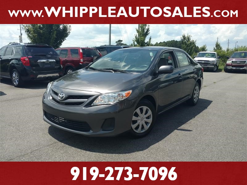 2011 TOYOTA COROLLA LE for sale by dealer