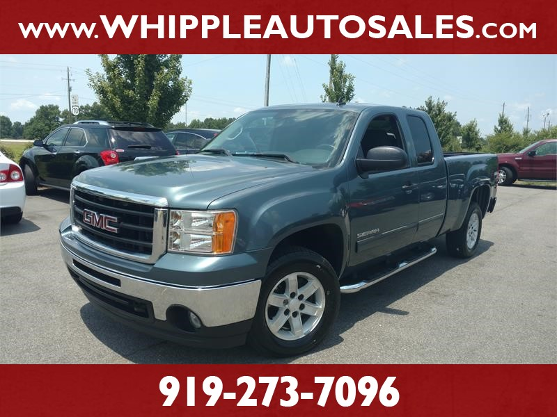 2009 GMC SIERRA SLE for sale by dealer