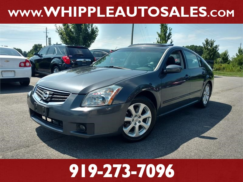 2008 NISSAN MAXIMA SL for sale by dealer
