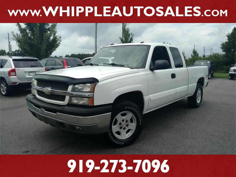 2004 CHEVROLET SILVERADO LT Z71 for sale by dealer