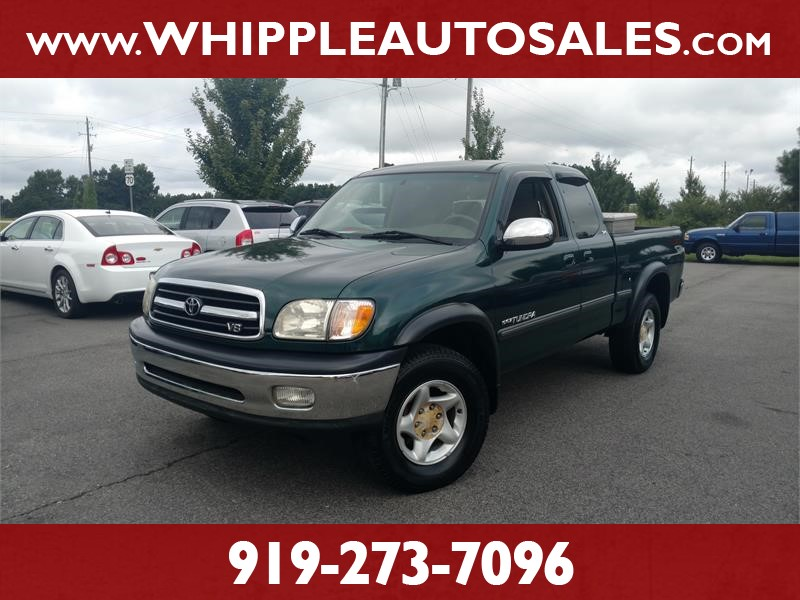 2001 TOYOTA TUNDRA SR5 ACCESS CAB for sale by dealer