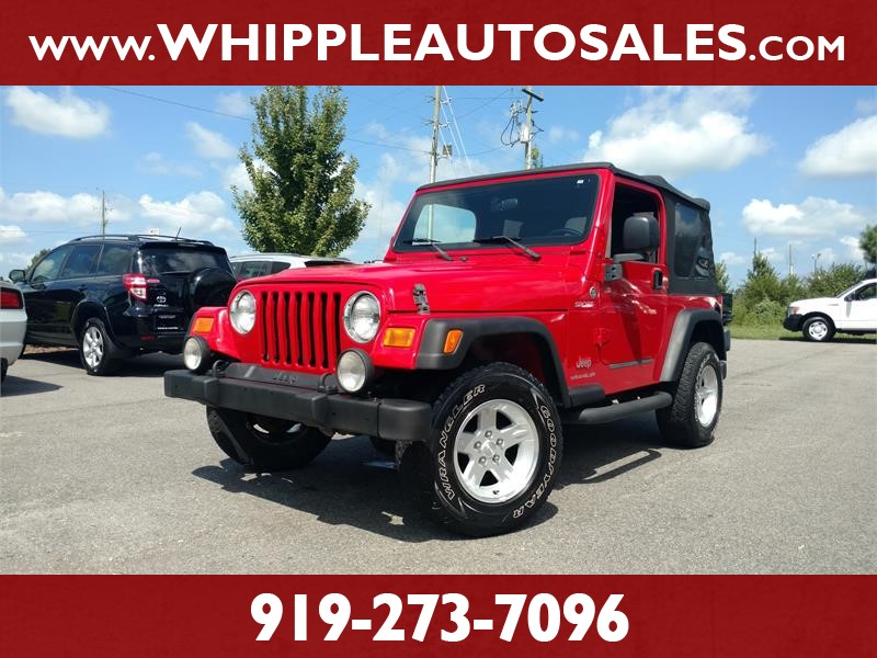 2006 JEEP WRANGLER SPORT for sale by dealer