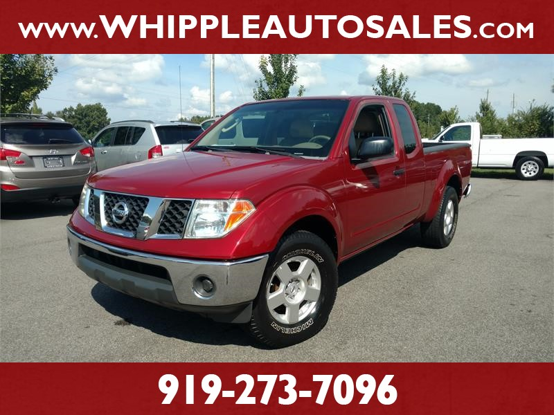 2008 NISSAN FRONTIER LE KING CAB for sale by dealer