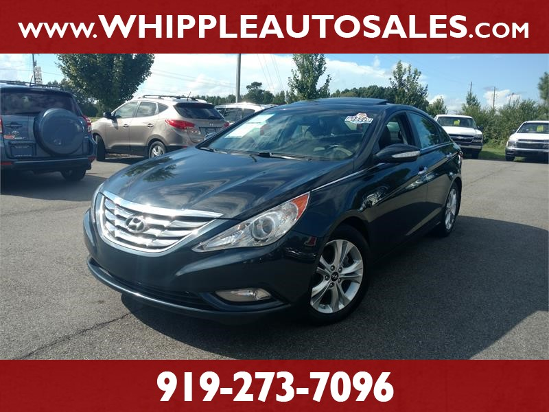 2011 HYUNDAI SONATA LIMITED (1-OWNER) for sale by dealer