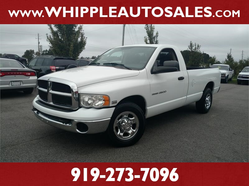 2005 DODGE RAM 2500 SLT for sale by dealer
