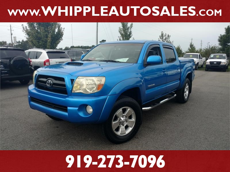 2006 TOYOTA TACOMA PRERUNNER DOUBLECAB (1-OWNER) for sale by dealer