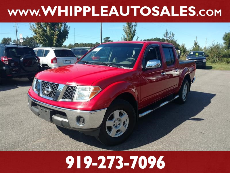 2006 NISSAN FRONTIER SE CREW CAB for sale by dealer