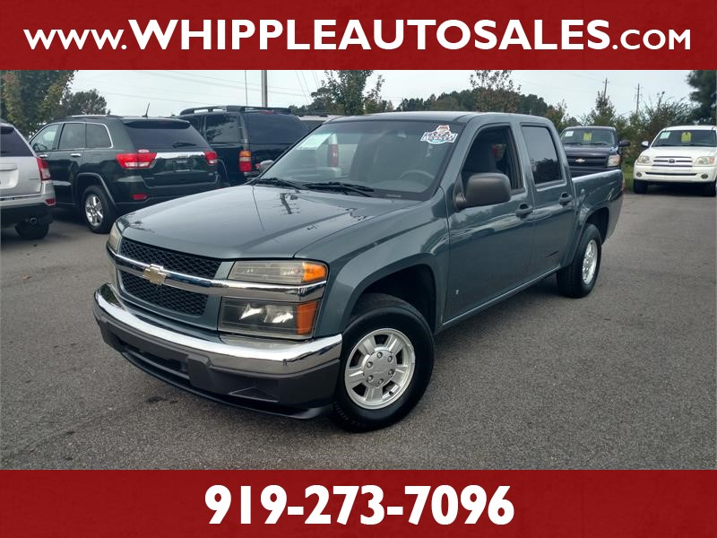 2006 CHEVROLET COLORADO LT CREW CAB (1-OWNER) for sale by dealer