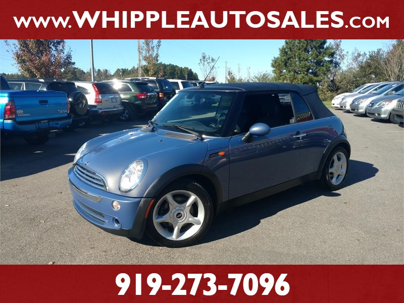 2005 MINI COOPER CONVERTIBLE for sale by dealer