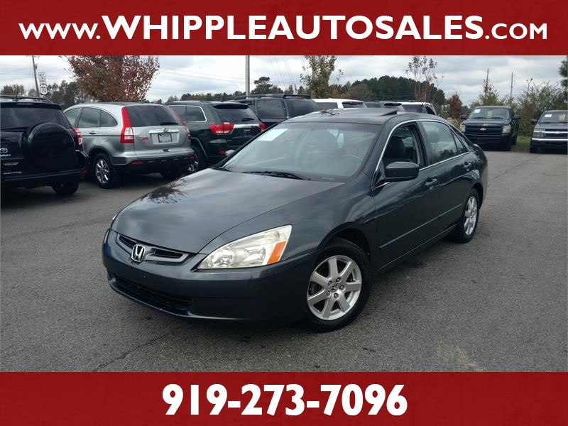 2005 HONDA ACCORD EX-L for sale by dealer