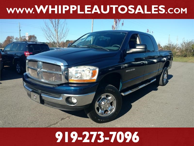 2006 DODGE RAM 1500 SLT MEGACAB for sale by dealer