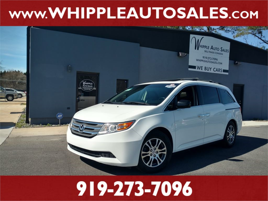 2012 Honda Odyssey Ex L 1 Owner For Sale In Raleigh